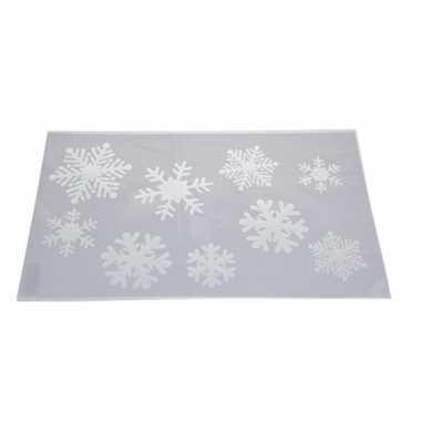 Sjabloon sneeuwvlokken 54 cm type 1