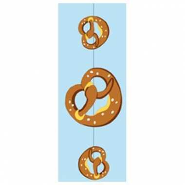 Slinger met pretzels 75 x 28 cm