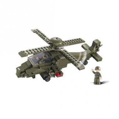 Sluban bouwstenen gevechtshelikopter