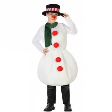 Sneeuwman kostuum voor kinderen