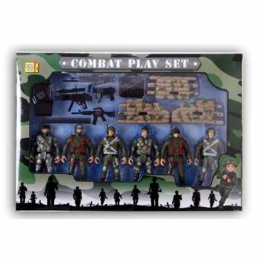 Soldaten speelgoed setje voor jongens