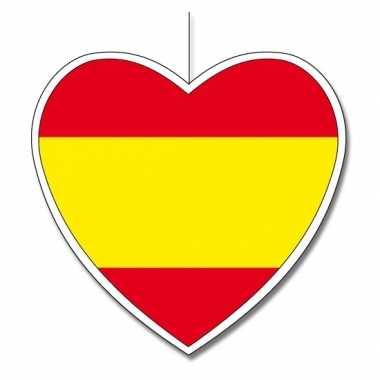 Spaans decoratie hart 30 cm