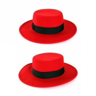 Spaanse hoeden rood