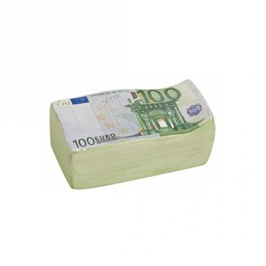 Spaarpot 100 euro 16 cm