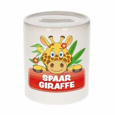 Spaarpot van de spaar giraffe lilly longneck 9 cm