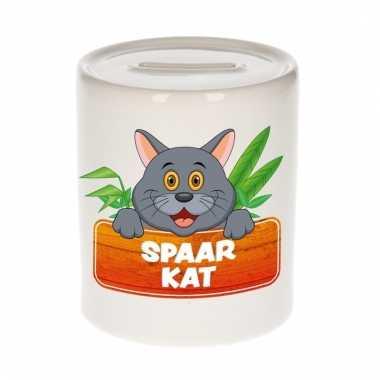 Spaarpot van de spaar kat tommy cat 9 cm