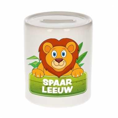 Spaarpot van de spaar leeuw leo 9 cm