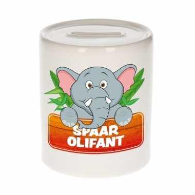 Spaarpot van de spaar olifant slurfie 9 cm