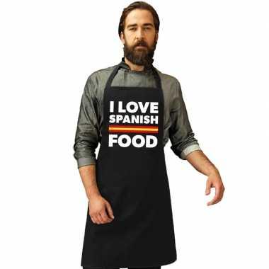 Spanje keukenschort i love spanish food