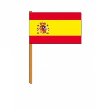 Spanje zwaaivlaggetjes