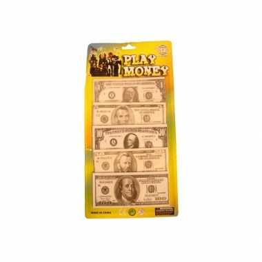 Speelgeld dollar briefjes