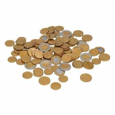 Speelgeld euro munten 100 stuks