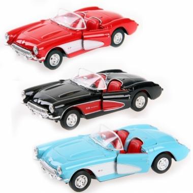 Speelgoed auto chevrolet corvette 1957 cabrio