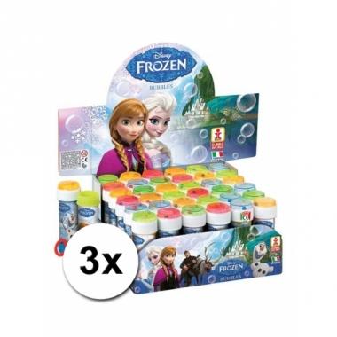 Speelgoed bellenblaas frozen 3x