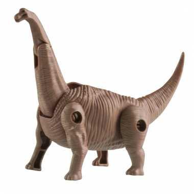 Speelgoed brontosaurus langnek dino plastic 12 cm