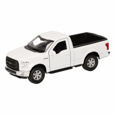 Speelgoed ford f-150 pick up truck wit 12 cm