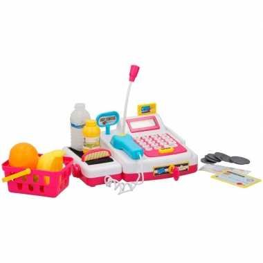 Speelgoed kassa met licht en geluid voor jongens/meisjes
