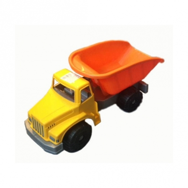Speelgoed kiepwagen oranje