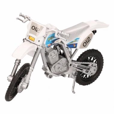 Speelgoed motoren in het wit