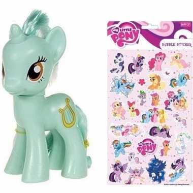 Speelgoed my little pony plastic figuur heartstrings met stickers/sti