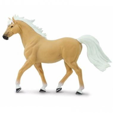 Speelgoed nep paard palomino hengst 14 cm