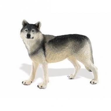 Speelgoed nep wolf 13 cm