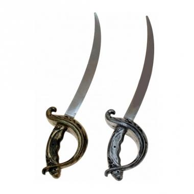 Speelgoed piraten zwaard plastic 53 cm