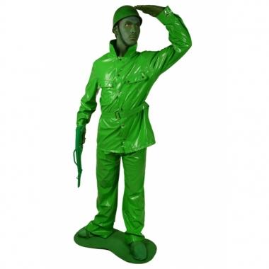 Speelgoed soldaat morphsuit kostuum