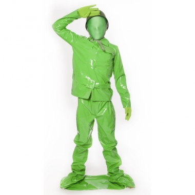 Speelgoed soldaat morphsuit voor kids