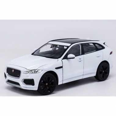 Speelgoedauto jaguar f-pace wit 1:34