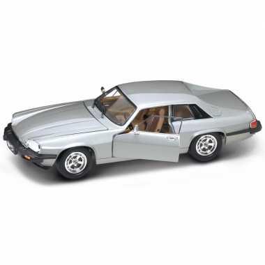 Speelgoedauto jaguar xjs zilver