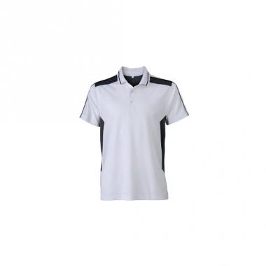Sportief werk shirt wit voor heren