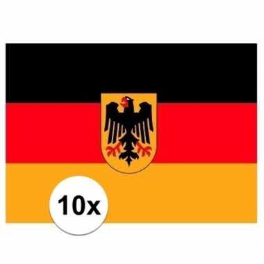 Stickertjes van vlag van duitsland