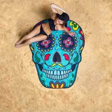 Sugar skull badlaken 150 cm