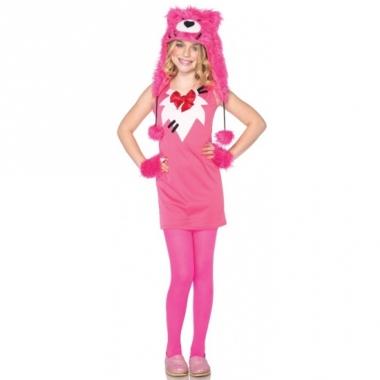 Sweathart bear kostuum voor meiden