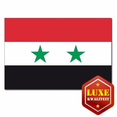Syrische vlaggen goede kwaliteit