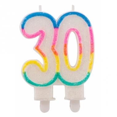 Taartkaars 30 jaar