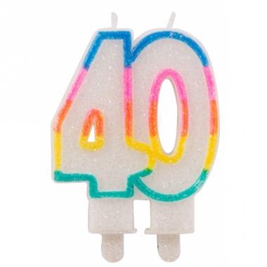 Taartkaars 40 jaar