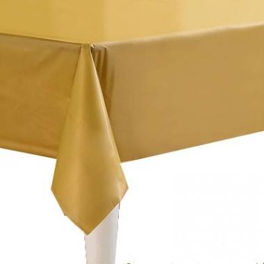 Tafelkleden goud 274 x 137 cm