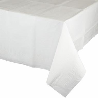Tafelkleden wit 274 x 137 cm