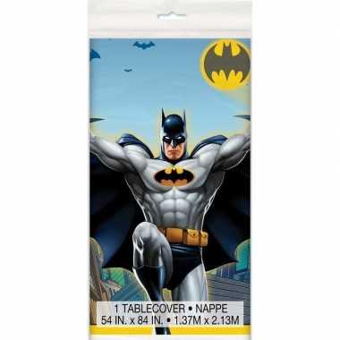 Tafelkleed batman print 137 x 213 cm tafeldecoratie