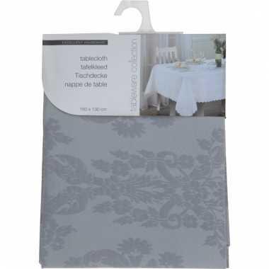Tafellaken grijs 180cm