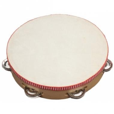Tamboerijntje met vel en cimbaaltjes