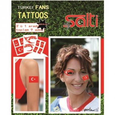 Tatoeages turkije 9 stuks