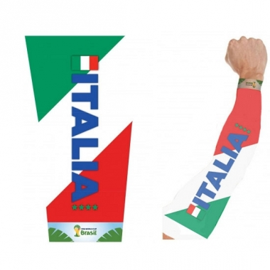 Tattoo arm bedekking italie