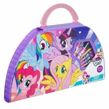 Teken en kleur set van my little pony