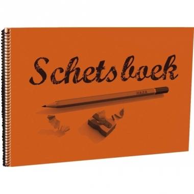 Tekenboek 28 x 20 cm