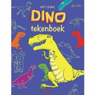 Tekenboeken/kleurboeken dinosaurussen 31 blz