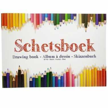 Tekeningenboek a4 papier