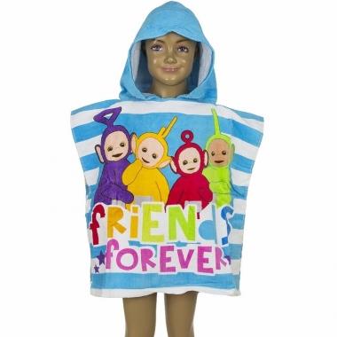 Teletubbies handdoek cape blauw